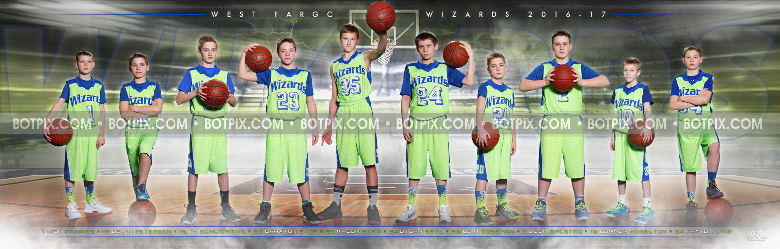 Your Athlete s Details.   required fields. Name  . 1x West Fargo Wizards  Basketball 2017 c6fe098a2