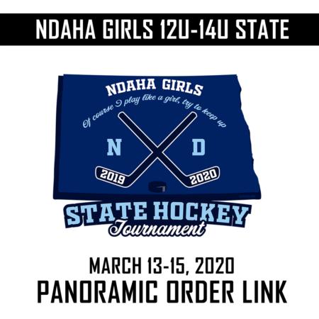 2020 NDAHA Girls 12U-14U State